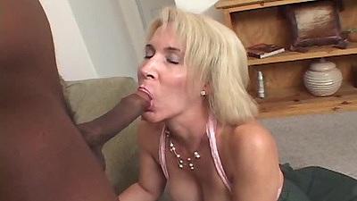 Mature interacial blowjob with skank granny Erica Lauren