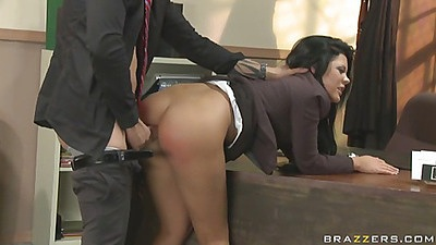 Doggy style ripping Madison Parker in court