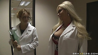 Doctor Von James and her huge tits