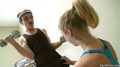 Chastity Lynn is helping old men getting it on