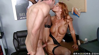 Adult theater is a great place to meet busty milfs