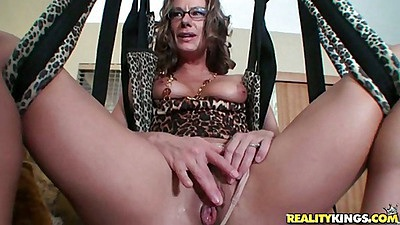 Milf group sex swing action