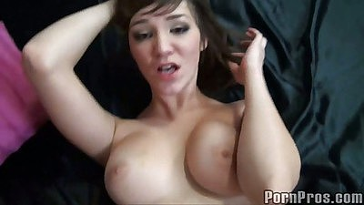 Shaved pussy Holly Michales close up POV