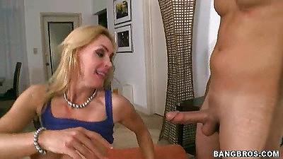 Big tits tanya tate ahorny milf sucking