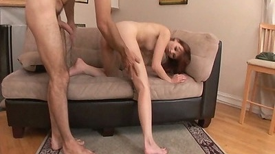 Delilah Darling doggy style fuck with hair pulling