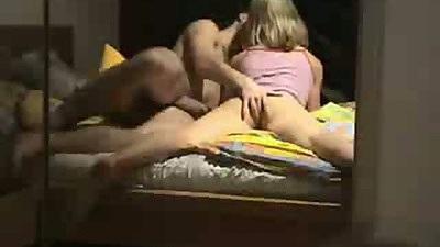 Fingering gfs ass on hidden home video fuck