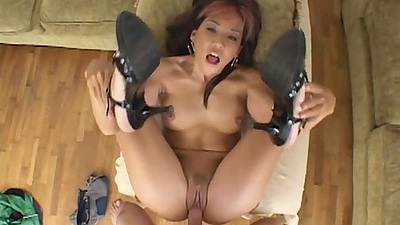 Asian front fuck from Keeani Lei with nice small tits