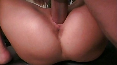 Close up front penetration with shaved pussy Zoe Young small tits sex