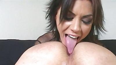 Ass licking slut eats man that mans asshole and ass fingered