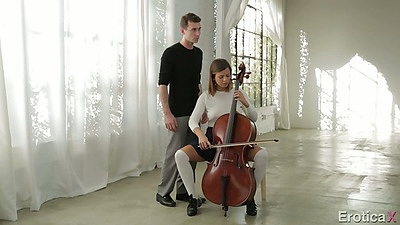 Keisha Grey fully clothed teen fucking her music teacher