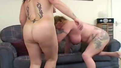 Busty mom and her sex buddies make a home video with their fat asses